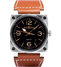 Bell And Ross Br0392 Golden Heritage Watch