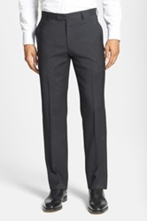 Star Usa By John Varvatos Flat Front Trouser Gray
