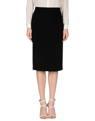Gai Mattiolo Couture Skirts Knee Length Skirts Women Black
