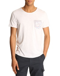 Menlook Label Kent White T Shirt
