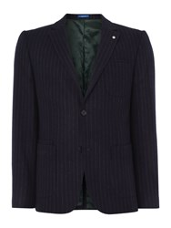 Peter Werth Columbia Button Blazer Navy