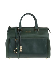 Ab Asia Bellucci Handbags Dark Green
