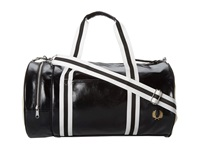 Fred Perry Classic Barrel Bag Black Duffel Bags