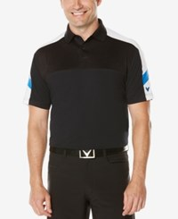 Callaway Men's Colorblocked Golf Polo Caviar