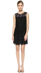 Nina Ricci Lace Layer Dress Eclipse