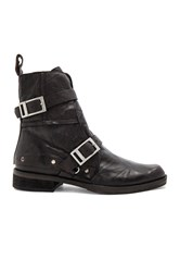 Free People Outsiders Moto Boot Black