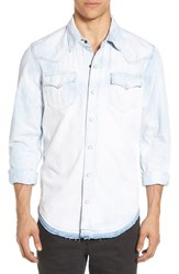 True Religion Men's Brand Jeans 'Ryan' Chambray Woven Shirt