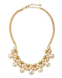 Jules Smith Designs Pearly Stud Statement Necklace Jules Smith Yellow Gold