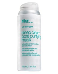 Bliss Steep Clean Pore Purifying Facial Mask No Color