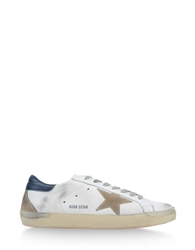 Golden Goose Low Tops Trainers White
