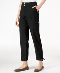 Styleandco. Style Co. Petite Convertible Cargo Pants Only At Macy's Deep Black