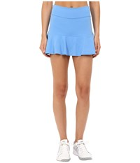 Kate Spade New York X Beyond Yoga Flounce Peplum Skirt Alley Blue Women's Skort
