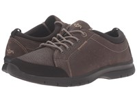 Dockers Fullerton Chocolate Soft Tumbled Full Grain Men's Lace Up Casual Shoes Brown