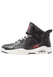 British Knights Mavik Hightop Trainers Black Red