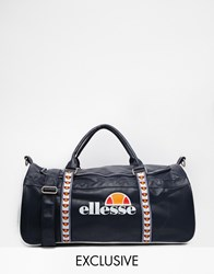 Ellesse Taped Logo Duffle Bag Exclusive To Asos Blue