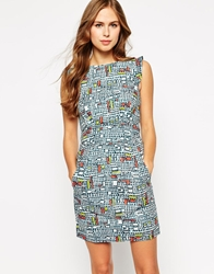 Emily And Fin Emily And Fin Printed Shift Dress 900Multi