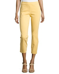 Natori Imperial Slim Ankle Pants Sunshine