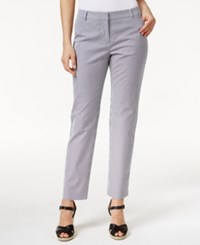 Charter Club Skinny Stripe Ankle Pants Only At Macy's Navy White