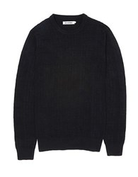 Ben Sherman Cotton And Wool Sweater True Blue