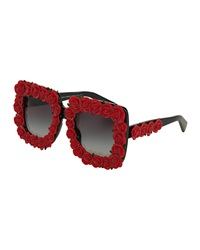 Dandg D And G Absolute Luxury Roses Sunglasses Red Black