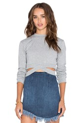 Cheap Monday Alpha Sweatshirt Gray