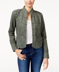 American Rag Twill Band Jacket Only At Macy's Dusty Olive