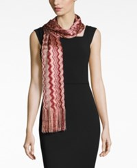 Inc International Concepts Zigzag Wrap Only At Macy's Wine