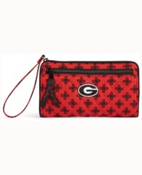 Vera Bradley Georgia Bulldogs Wristlet Red
