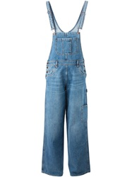 Moschino Denim Overalls Blue
