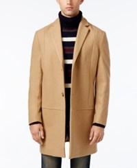 American Rag Men's Traditional Notch Collar Peacoat Only At Macy's Tiger's Eye