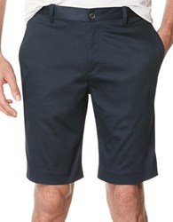 Perry Ellis Slim Fit Cotton Shorts Dark Sapphire