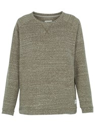 Fat Face Hebe Jumper Khaki