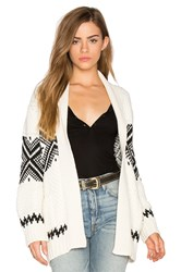 Goddis Great Escape Cardigan White