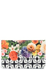 Shiraleah 'Flora' Clutch Black