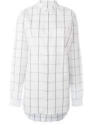 Stampd Checked Shirt White