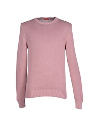 Altea Knitwear Jumpers Men Pastel Pink