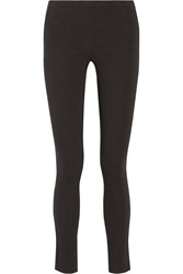 Donna Karan Stretch Crepe Leggings Style Pants