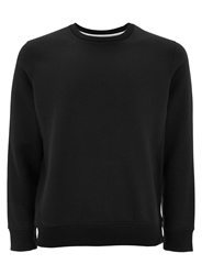Burton Plain Crew Neck Pull Over Overhead Black