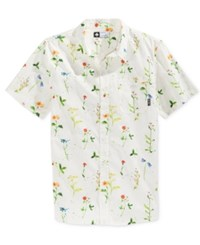 Lrg Men's Short Sleeve Grown Not Made Shirt White