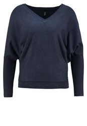 Soyaconcept Dollie Jumper Midnight Blue Melange Dark Blue