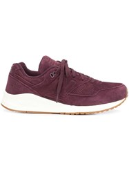 New Balance Chunky Sole Sneakers Red