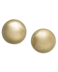 Giani Bernini 24K Gold Over Sterling Silver Earrings Ball Stud Earrings