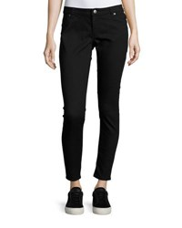 Cheap Monday Spray On Low Rise Skinny Jeans Black
