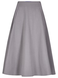 Winser London Full Circle Midi Skirt Mid Grey