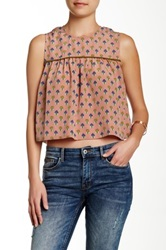 Porridge Cropped Top Pink