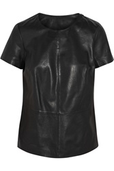 Muubaa Penna Leather Top