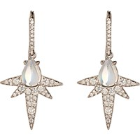 Finn Women's Moonstone Spike Earrings No Color