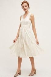Anthropologie Garden Party Lace Dress White