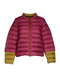 Maliparmi Coats And Jackets Down Jackets Women Garnet