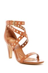 Isola Damar Luggage Wrap Around Ankle Strap Pump Brown
